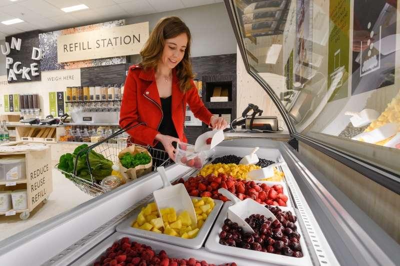 Vente de produits alimentaires …sans emballage !