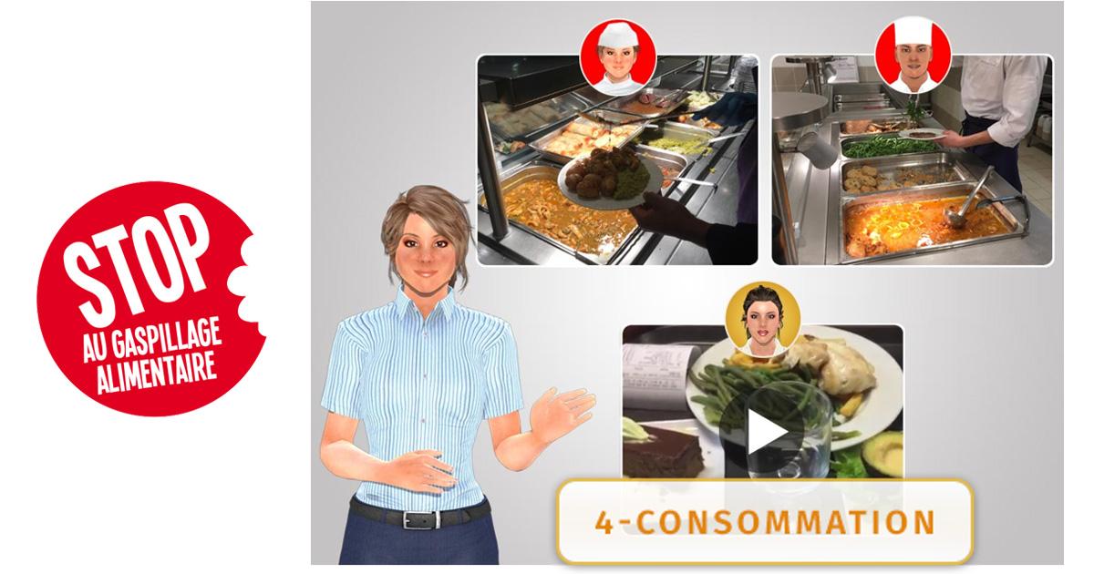 Les salariés prêts à s'impliquer dans la réduction du gaspillage alimentaire dans leurs restaurants d'entreprises !
