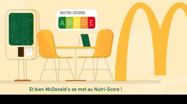 Nutriscore Mc Donald's …décryptage de A à E !